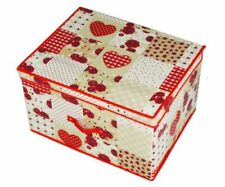 MDF/Chipboard-Matt Effect Hearts Toy Boxes & Chests