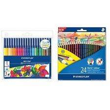 Staedtler Noris Club Colouring Pencils and Felt Tips Adult colouring Bundle