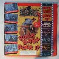 ROCK BABY, ROCK IT – SEALED SOUNDTRACK – 12 INCH 33 RPM VINYL LP ALBUM - RHINO