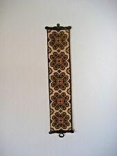 Vintage Klokkestreng Wool TAPESTRY Bellpull DENMARK Wall Decor Folk Art #19