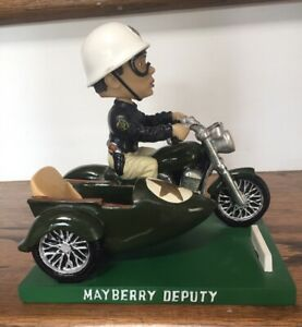 RARE BARNEY FIFE AND THE SIDECAR MAYBERRY DEPUTY ANDY GRIFFITH SHOW BOBBLEHEAD