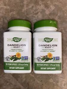 2PACK Nature's Way - Dandelion Root - 100 Capsules