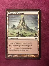 Vault of Whispers - Mirrodin  VO  MTG PLAYED (see scan)