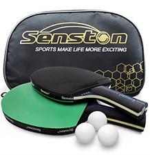 Senston Table Tennis Rackets with Balls Ping Pong Paddle Sets, Table Tennis Bats