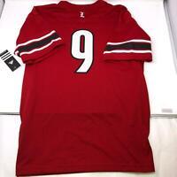 Adidas Louisville Cardinals Football Jersey #9 Youth Size XL