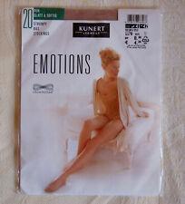 KUNERT EMOTIONS STOCKINGS 20 den NYLON size L