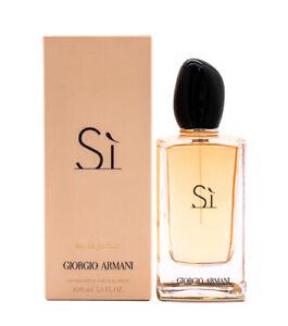 Armani Si by Giorgio Armani 3.4 oz EDP Perfume for Women New In Box