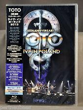 TOTO 35th Anniv Tour: LIVE In Poland 2013 Blu Ray DVD + 2 CD's JAPAN VQXD-10074