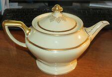 "Bavaria Rosenthal Ivory ""Jos Hogg"" Teapot MINT!"