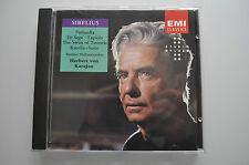 Sibelius: Finlandia, En Saga, Tapiola, Karelia-Suite - Karajan - EMI CD