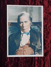 DE RESZKE POST CARD -  FILM STAR GEORGE ARLISS - # 22 - UNPOSTED