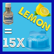 15 Lemon Braun Clean & Renew Cartridge Refills for ALL Clean and Renew Shavers!