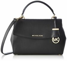 MICHAEL Michael Kors Women's Ava Small Satchel, Black