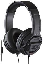 JVC HA-MR60X-E Headphones Bass Sound 1-Button Remote Control Black