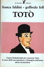 TOTO' FRANCA FALDINI GOFFREDO FOFI 1993 PIRONTI EDITORE (JA477)