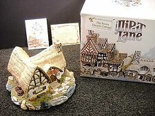 Lilliput Lane Seven Dwarfs Cottage Disney 50th Anniversary Ltd. Ed. Nib W/ Deeds