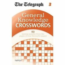 The Telegraph: General Knowledge Crosswords 3 (The Telegraph Puzzle Books), New