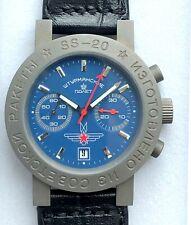 Poljot Luftwaffe Flieger Chronograph 3133 Russian Watch NOS 2004 Hand Wound