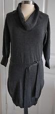 NWOT Express Women's Gray Turtleneck Sweater Dress Size S