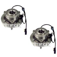 Pair Set 2 Front Timken Wheel Bearing Hub Kit for Cadillac Chevy 4WD 4Wheel ABS