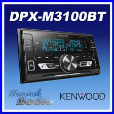 Kenwood DPX-M3100BT Double Din Mechless Bluetooth Media Player iPod/Android