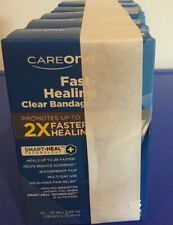 NEW! CARE ONE CAREONE CLEAR BANDAGES BAND-AIDS W/ SMART HEAL WATERPROOF SET OF 6