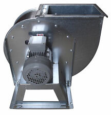 Centrifugal industrial duct extractor fan, blower, 1400 RPM, 5000 m3/h; 380 V
