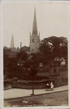 Leicester. St Mary's Church by T.E.S.L.