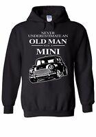 Old Man With Classic Mini Men Women Unisex Top Hoodie Sweatshirt 2058