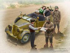 1/35 US PARACADUTISTI & civili 1945 fermata un passaggio Set da MASTER BOX 35161