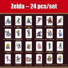Complete 24 Pieces Zelda New Cards Amiibo NFC - BOTW Links Awakening