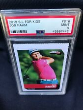 2019 S.I. for Kids #816 Jon Rahm (Rookie) PSA 9