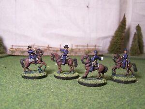 Union  Generals, (US4), ACW, 15mm