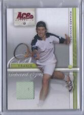 Richard Gasquet 2007 Ace Authentic Straight Sets Match Worn Jersey Relic #32
