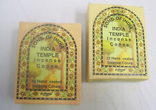 Song of India Incense Cone: 50 Cones (2 x 25 Boxes) India Temple