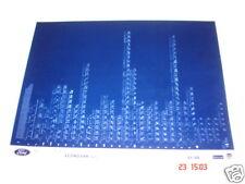 FORD ECONOVAN (CZ1) piezas Microficha Juego Completo de 1 - Fecha Enero 1989