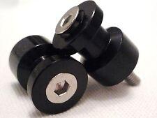 PADDOCK STAND SWINGARM BOBBINS FITS SUZUKI GSXR1000 2001-2012 BLACK