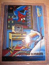 CARTE MARVEL DEATH OF A PARKER 1995 N°98 FLEER ULTRA SPIDER-MAN MINT CARD
