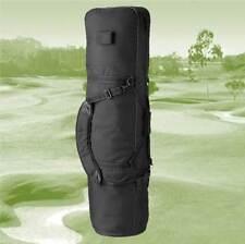 Black Padded Golf Bag Carry Cover, Flight Bag Coverall and Golf  Bag Transporter