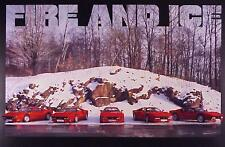Five 1984 Ferrari 288 GTO's Line Up - Fire and Ice, Out of Print Car Poster :>)