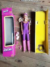 Poupée mannequin barbie superstar super dance 1982 vintage