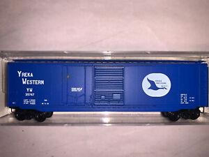 Kadee Micro-Trains #33040, Yreka Western (Goose) 50' Std. Steel Boxcar, Plug/Sli