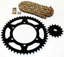 1992-1998 YAMAHA XJ600 SECA II GOLD O RING CHAIN AND SPROCKET 16/48 520-110
