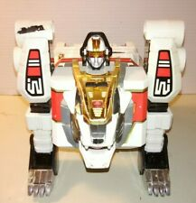 Vintage 1994 ~ BANDAI POWER RANGERS White Tigerzord Action Figure AS-IS / REPAIR