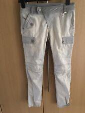 BNWT Lovely DIESEL grey bleach distressed faded look skinny jeans age 10 years
