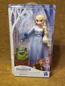 Brand New Disney Frozen II Elsa, Pabbie and Salamander  toys kids doll Hasbro