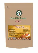 Nutmeg Tea,  Antidote for Insomnia, Liver and Kidney Detox Agent,20 Tea bags 40g