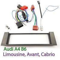 AUDI A4 (B6) Radioblende Einbaurahmen Autoradio Rahmen SET