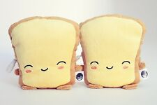 Smoko Cute Kawaii Chibi USB Toast Pillow Glove Handwarmer Heating Pad- Butta