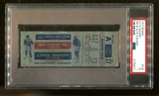 1977 Muhammad Ali v Earnie Shavers Ticket Heavyweight Championship MSG 9/29 PSA
